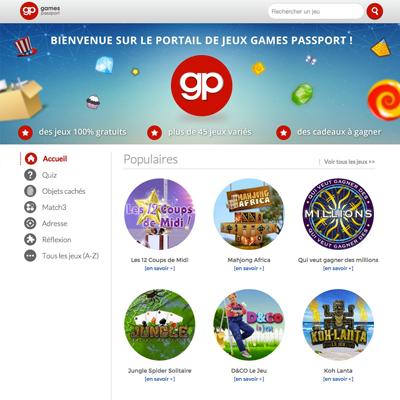 Games passport